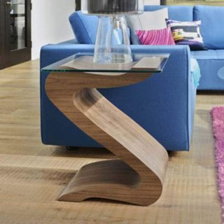 THE SERPENT LAMP TABLE.