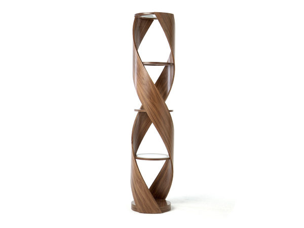 Tom Schneider Designs - DNA Shelves, whole twist