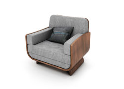 Curl_Armchair_tom_schneider_curved_furniture