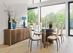 Serpent_dining_table_sasha_chairs_serpent_sideboard_tom_schneider_curved_furniture