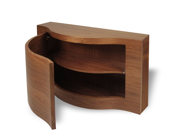 Charmant Verve Console With Storage/Shoe Tidy ...