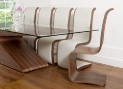 curl_dining chairs-leather_walnut_02_tom_schneider_curved_furniture
