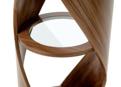 Tom Schneider Designs - DNA Shelves, whole twist detail