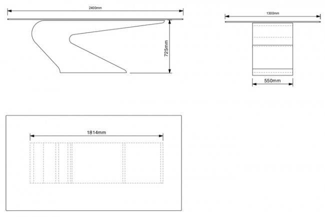 Cantilever dining table 24 copy