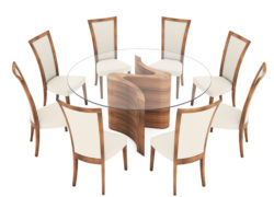 Serpent_Round_dining_table_extra_large_03_with_Embrace_chairs_tom_schneider