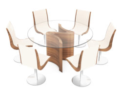Serpent_Round_dining_table_large_03_with_Dune_chairs_tom_schneider