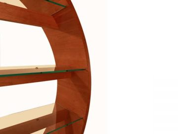 Circular Display Shelves