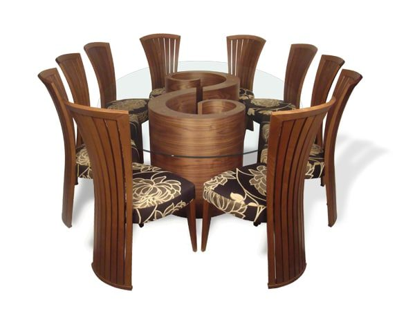 whirl double base wanut with empress chairs harlequin 001