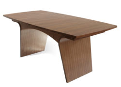 Charlotte Dining Tables, Wooden Top & Extending Wooden Top