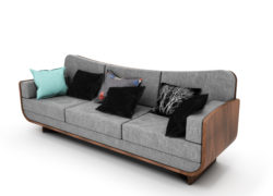 Curl 3 Seater Sofa
