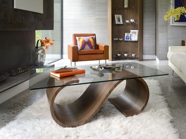Swirl Coffee Table (Clearance)